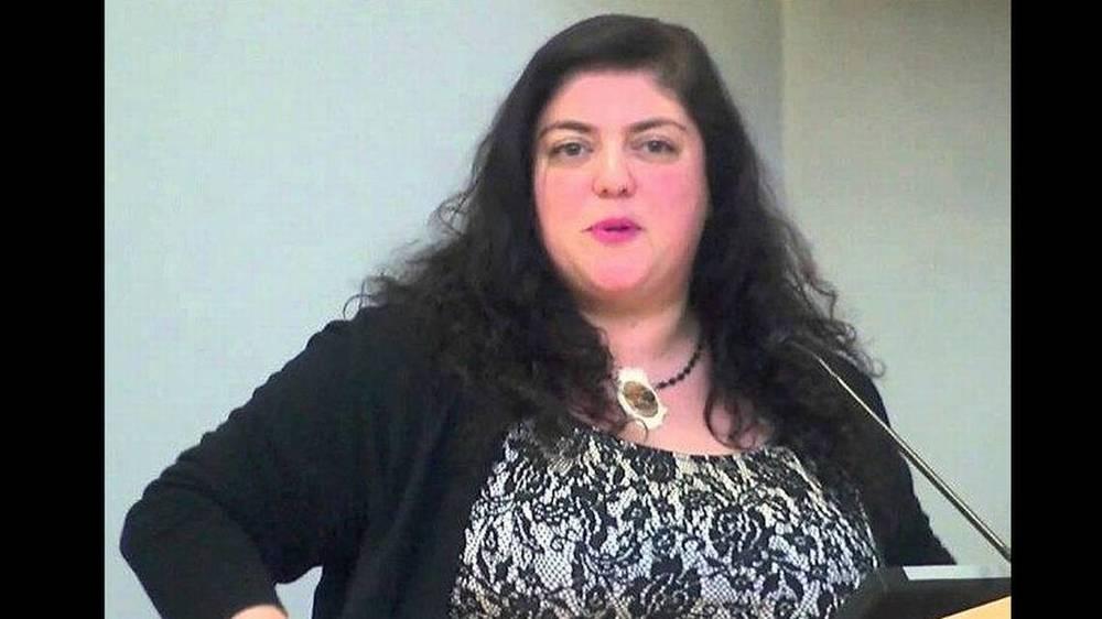 Randa Jarrar, an English professor at Fresno State University, mocked Barbara Bush.