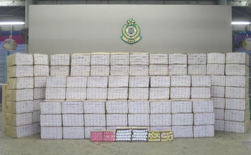 Customs seize HK$5 8m illicit cigarettes in Kwai Chung | The Standard