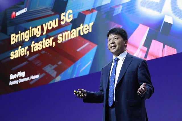 Gu Ping assures China's Huawei does not do bad things.