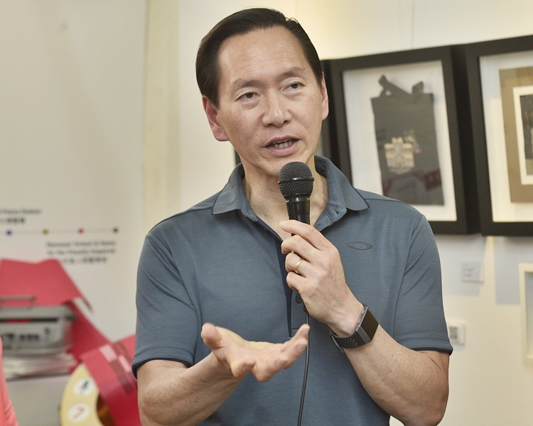 Adviser Bernard Chan cites Carrie Lam's contributions.