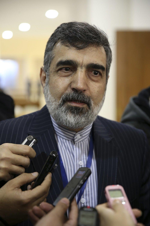 The spokesman for Iran's atomic agency Behrouz Kamalvandi says Iran will break the uranium stockpile limit set by Tehran's nuclear deal with world powers in the next 10 days.