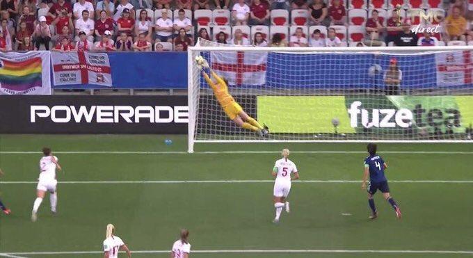 (Women's World Cup) England blank Japan