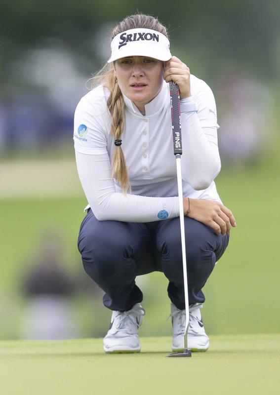 (Women's PGA Championship) Scholarship winner comes up trumps