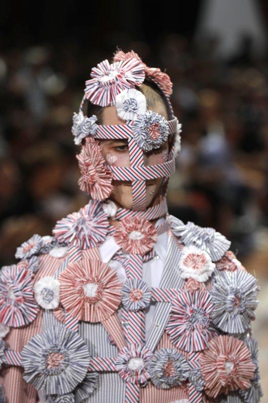 Thom Browne conjures up Paris garden party