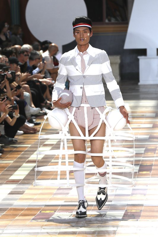 (Paris fashion week - Thom Browne) Subversive streak