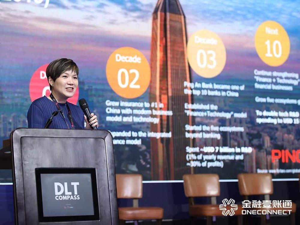 One Connect Chief Executive Tan Bin Ru.