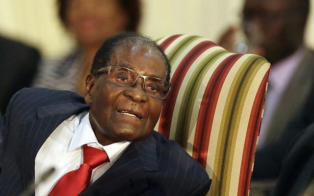 Former Zimbabwe president, Robert Mugabe. (AP photo)