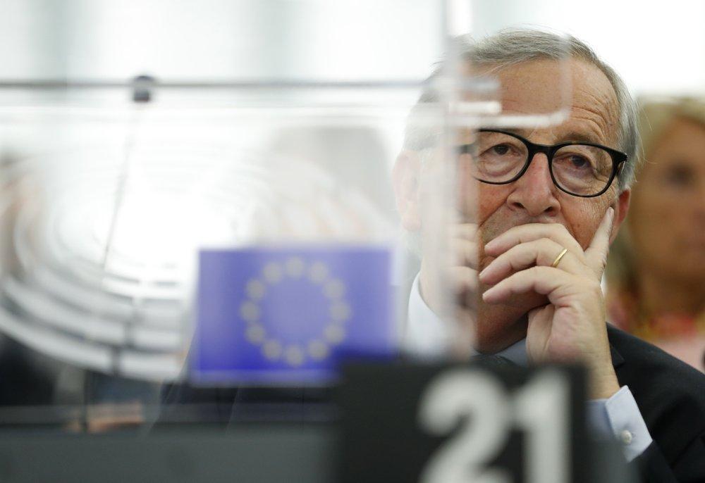 European Commission President Jean-Claude Juncker. (AP photo)
