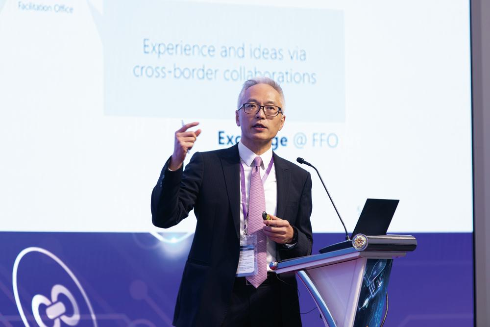 Howard Lee, Deputy Chief Executive of the Hong Kong Monetary Authority