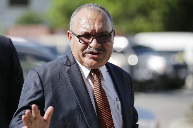 File photo shows former Papua New Guinea Prime Minister Peter O'Neill. (AP photo)