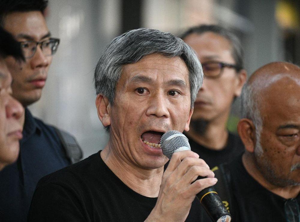 Activist Alex Kwok.