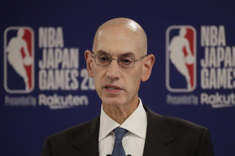 NBA Commissioner Adam Silver. (AP photo)