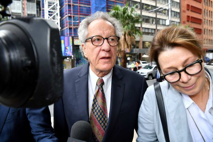 Actor Geoffrey Rush won 2.9 million Australian dollars in damages.