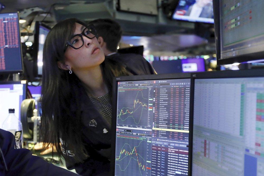 There was turmoil on Wall Street overnight.