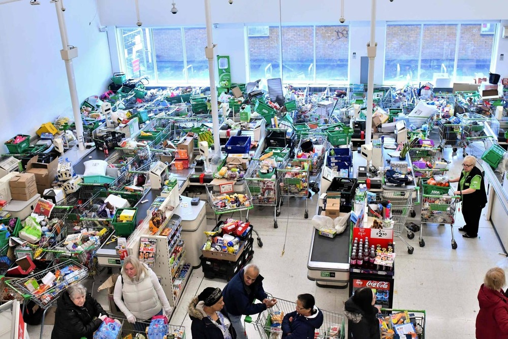 Virus rush pours £10.8b into UK supermarkets