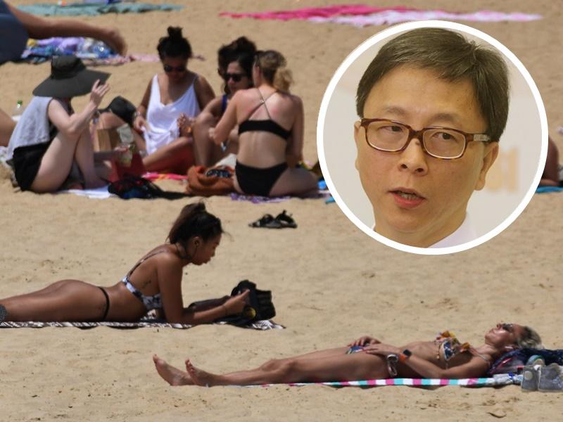 Ho Pak-leung, inset.