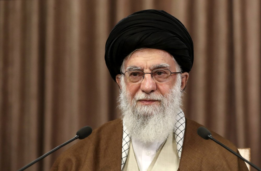 Ayatollah Ali Khamenei. (Office of the Iranian Supreme Leader via AP)