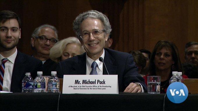 Michael Pack, is a former associate of Donald Trump's political adviser Steve Bannon.