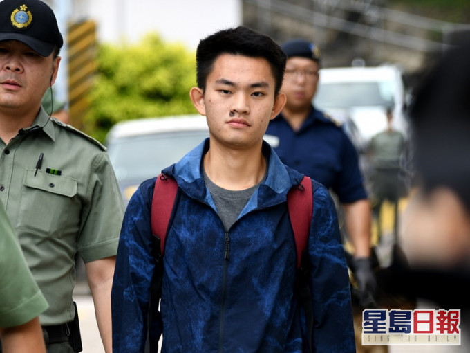 File photo shows Chan Tong-kai being released from prison in October last year.
