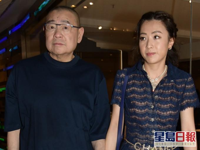 File photo shows Joseph Lau, left, and Chan Hoi-wan.