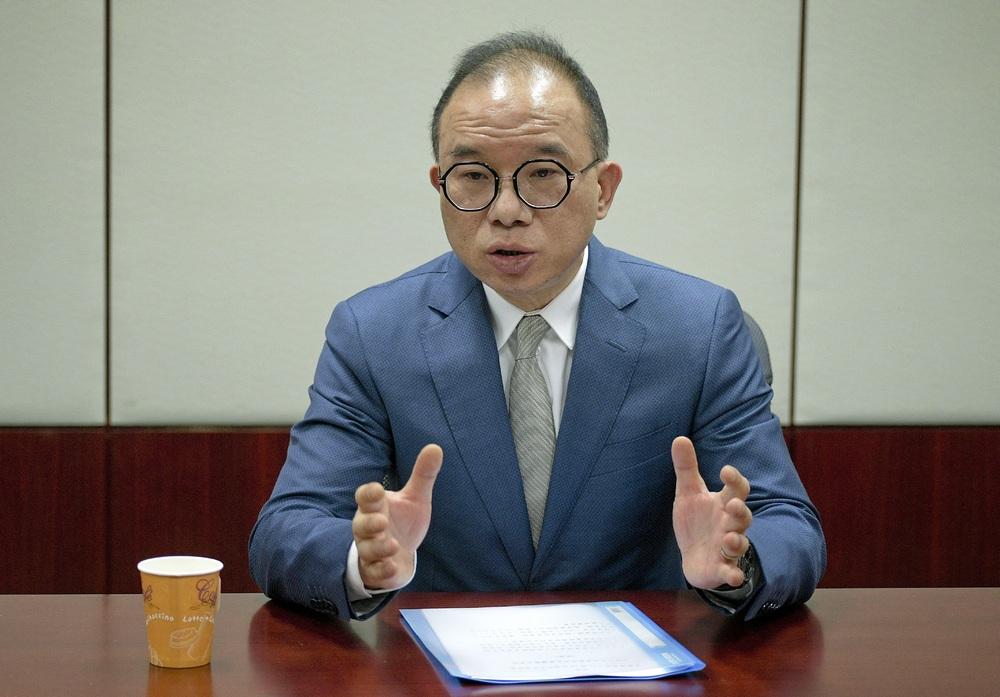 Secretary for Constitutional and Mainland Affairs Erick Tsang Kwok-wai. File Photo.