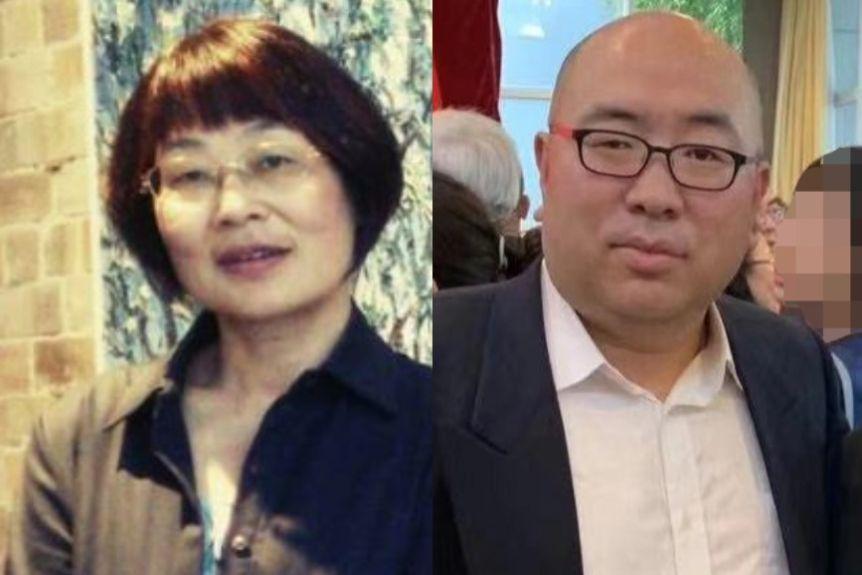 China News Service's Australia bureau chief Tao Shelan and China Radio International's Sydney bureau chief Li Dayong.