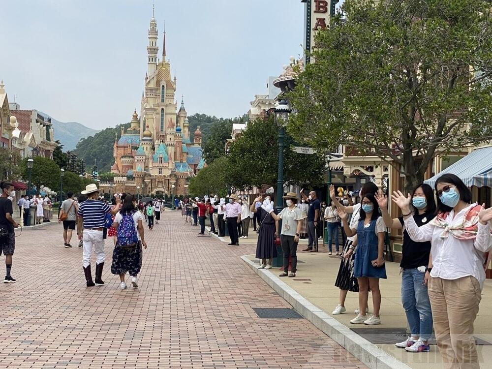 Delight all around at Disneyland