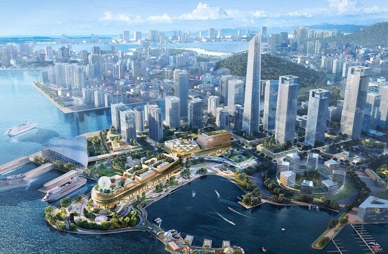 New World Development says it will invest HK$10 billion in Prince Bay in Shenzhen. It has a1.7-kilometer harbourfront promenade.