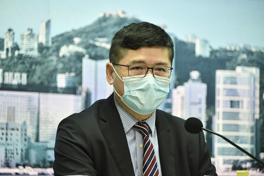 Tony Ko Pat-sing, Chief executive of the Hospital Authority (File photo)