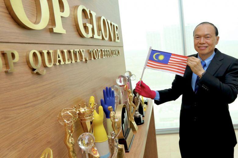 Tycoon Lim Wee Chai runs Top Glove.