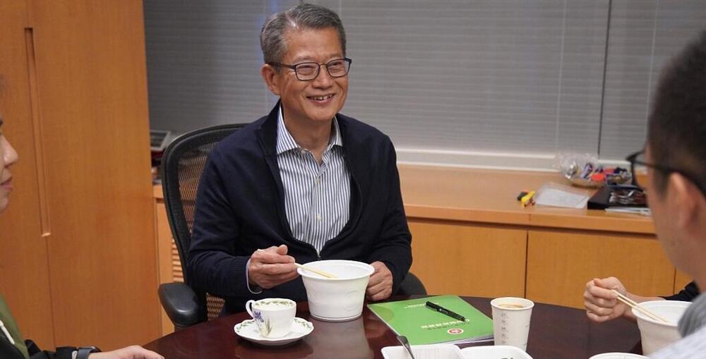Financial Secretary Paul Chan Mo-po (Photo: Paul Chan's blog)