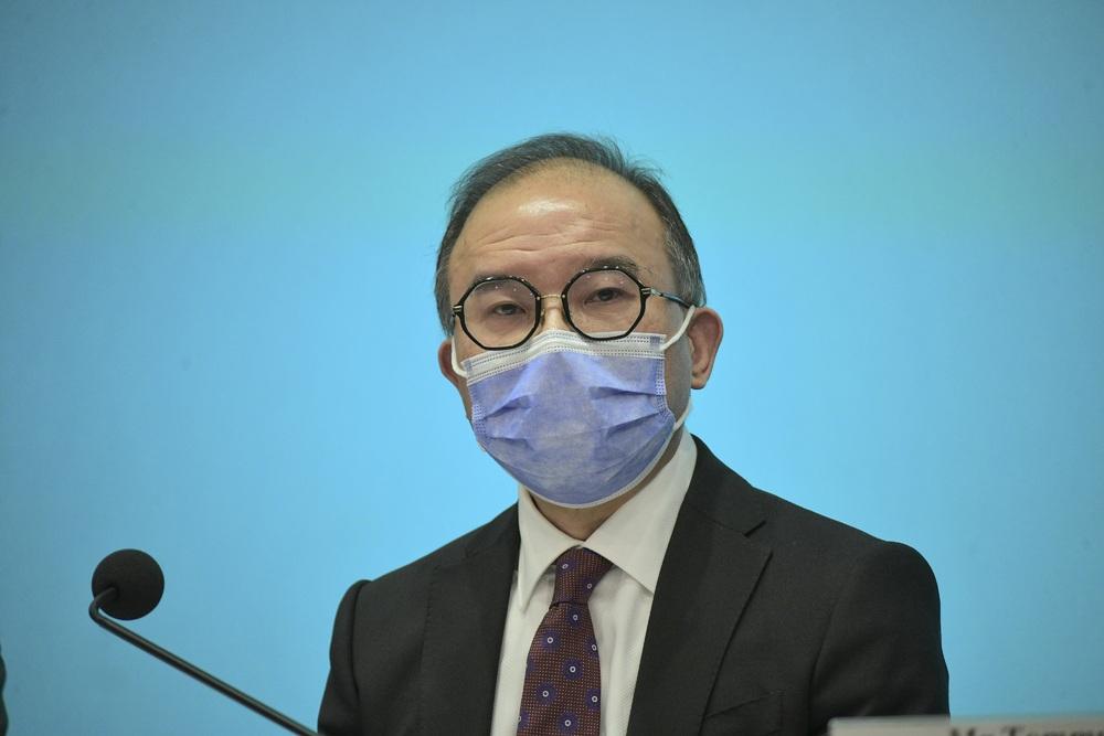 The Secretary for Constitutional and Mainland Affairs, Erick Tsang Kwok-wai. File photo.