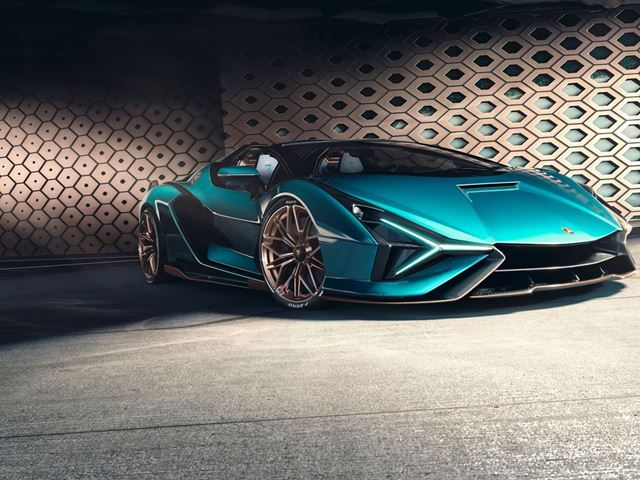 Lamborghini Sián RDS.