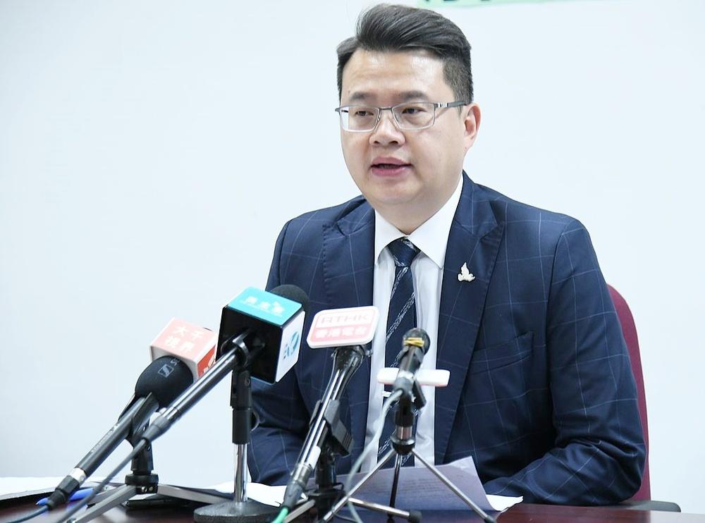 Former Democratic Party lawmaker Andrew Wan Siu-kin. File photo.