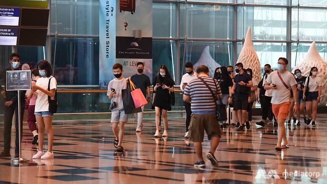 Changi Airport Terminal 3.