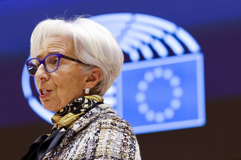 ECB President Christine Lagarde.