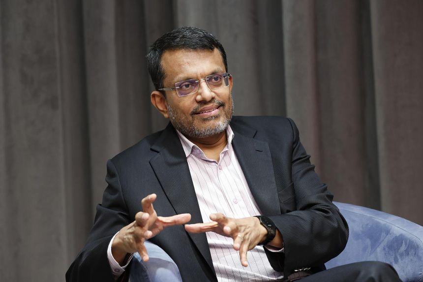 Ravi Menon, managing director of the Monetary Authority of Singapore.