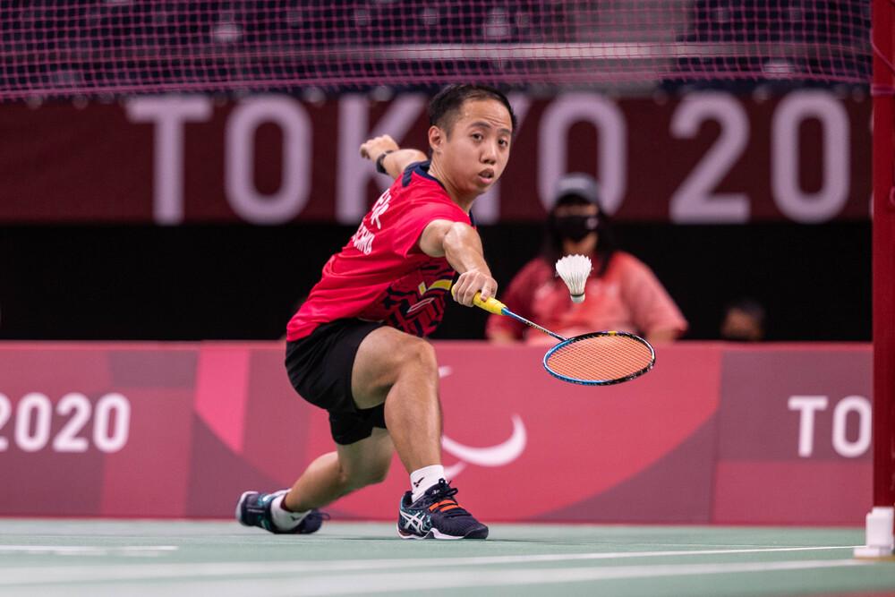 Chu Man-kai haswon a silver medal in men's singles SH6.