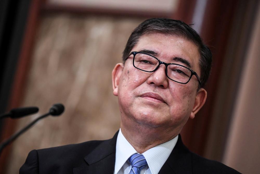 Shigeru Ishiba. (Reuters)