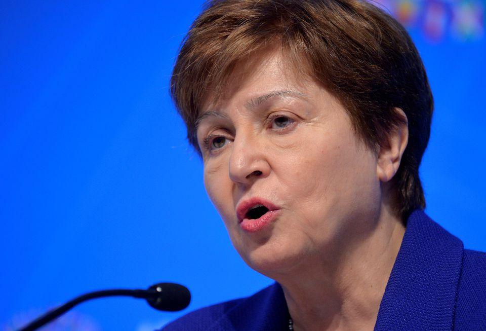 IMF chief Kristalina Georgieva. Photo: Reuters