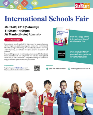 International Schools Fair 2019