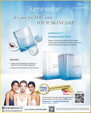The Standard X Hong Kong Jeunesse - luminesce™ Hydrashield Mask Giveaway Promotion