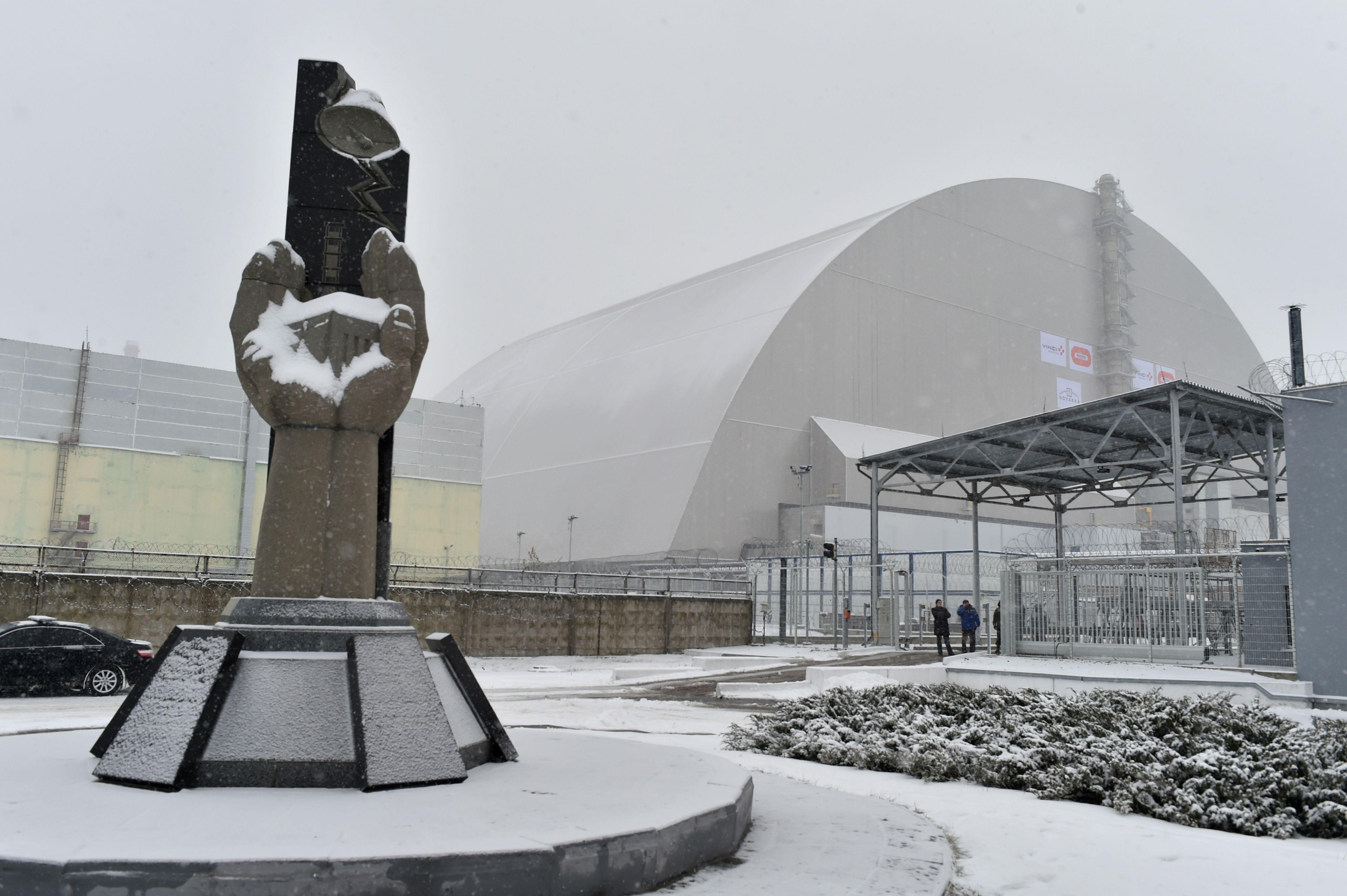 Gigantic lid on Chernobyl mess | The Standard