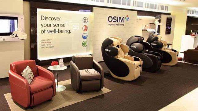 massage chair maker builds up retail clout the standard
