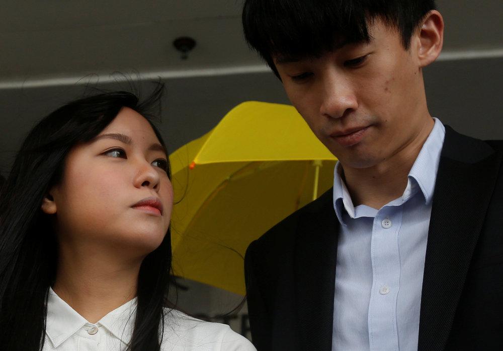 The Basic Law cannot protect Hong Kongers, according to Yau Wai-ching and Sixtus Leung.