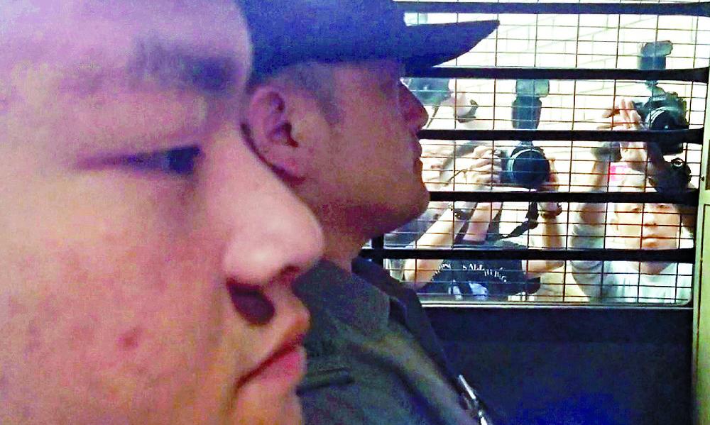 Chan Tong-kai is accused of killing Poon Hiu-wng.