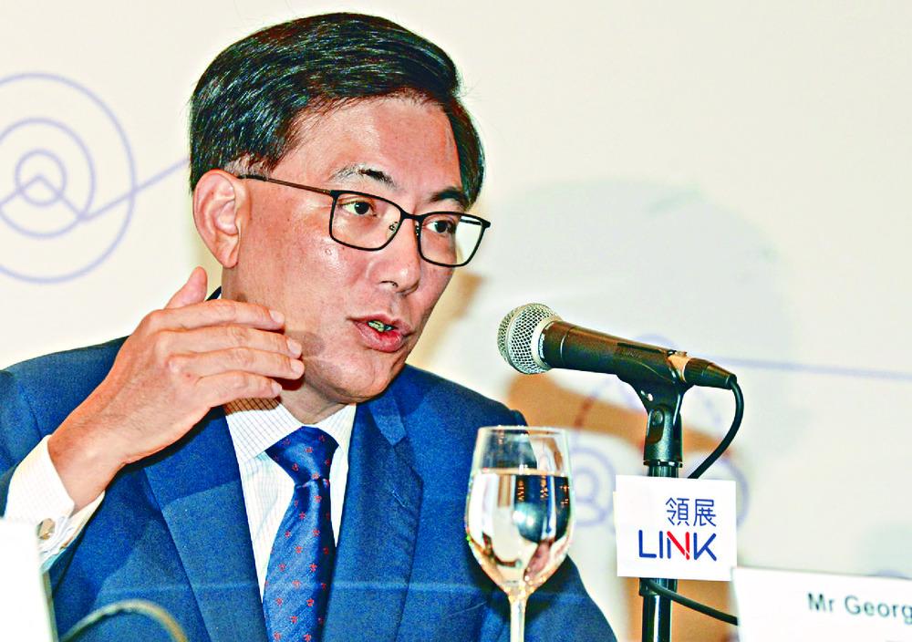 Link REIT CEO George Hongchoy. SING TAO