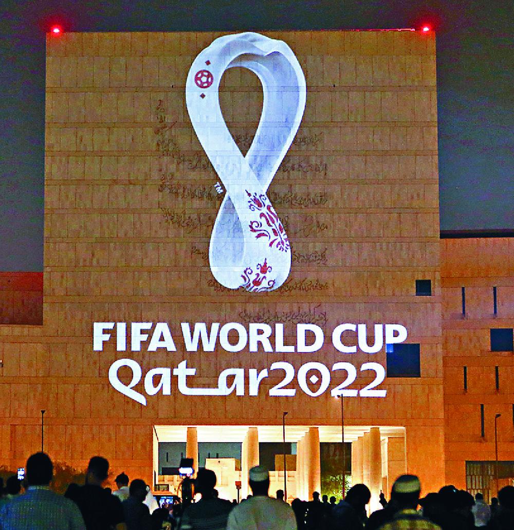 Qatar 2022 logo reflects switch to winter dates   The Standard