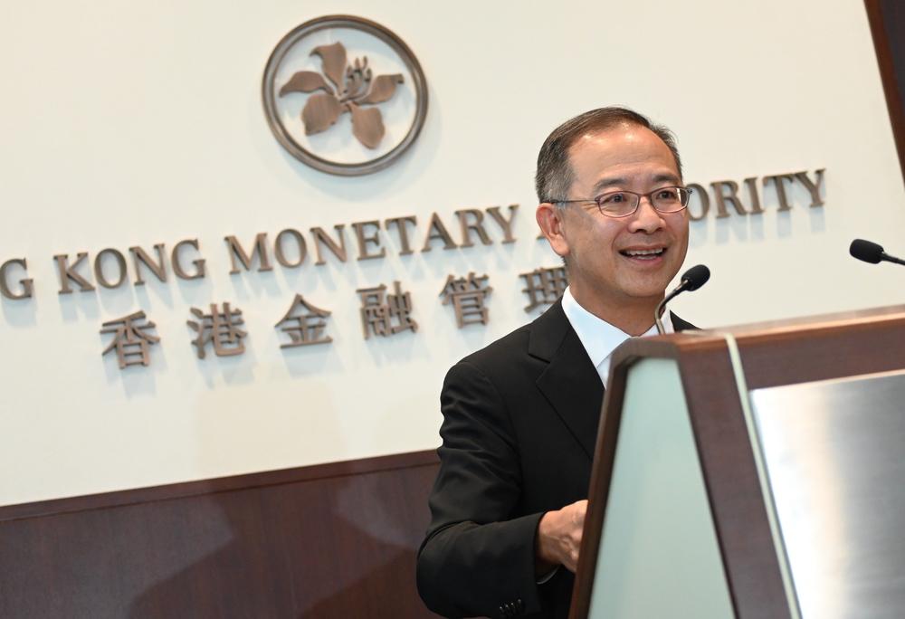 HKMA's chief executive Eddie Yue. SING TAO