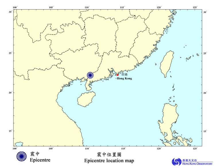 Guangxi shaken but not stirred by earthquake